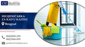 Higijeničarka za rad u kazinu | Oglasi za posao, Beograd