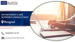 Investment Café Support Consultant| Oglasi za posao, Beograd