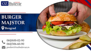 Burger majstor | Oglasi za posao, Beograd