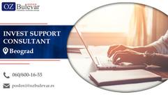 Invest Support Consultant | Oglasi za posao, Beograd