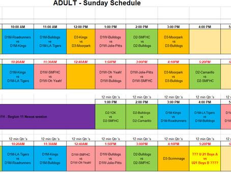 Full Schedule - Spring 2021 - Version 11