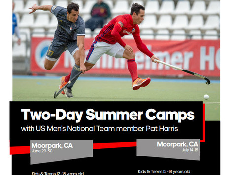 Two Day Summer camp with Pat Harris