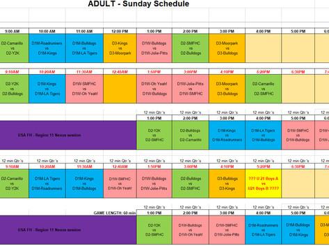 Full Schedule - Spring 2021 - Version 10