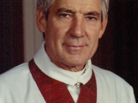 News of the Death of 29th Rector, Father George Timberlake