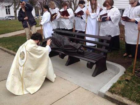 'Homeless Jesus' sparks worldwide day