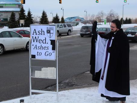 Ash Wednesday outreach