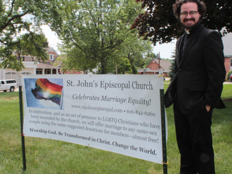 Marriage ruling 'a real blessing' for local couple