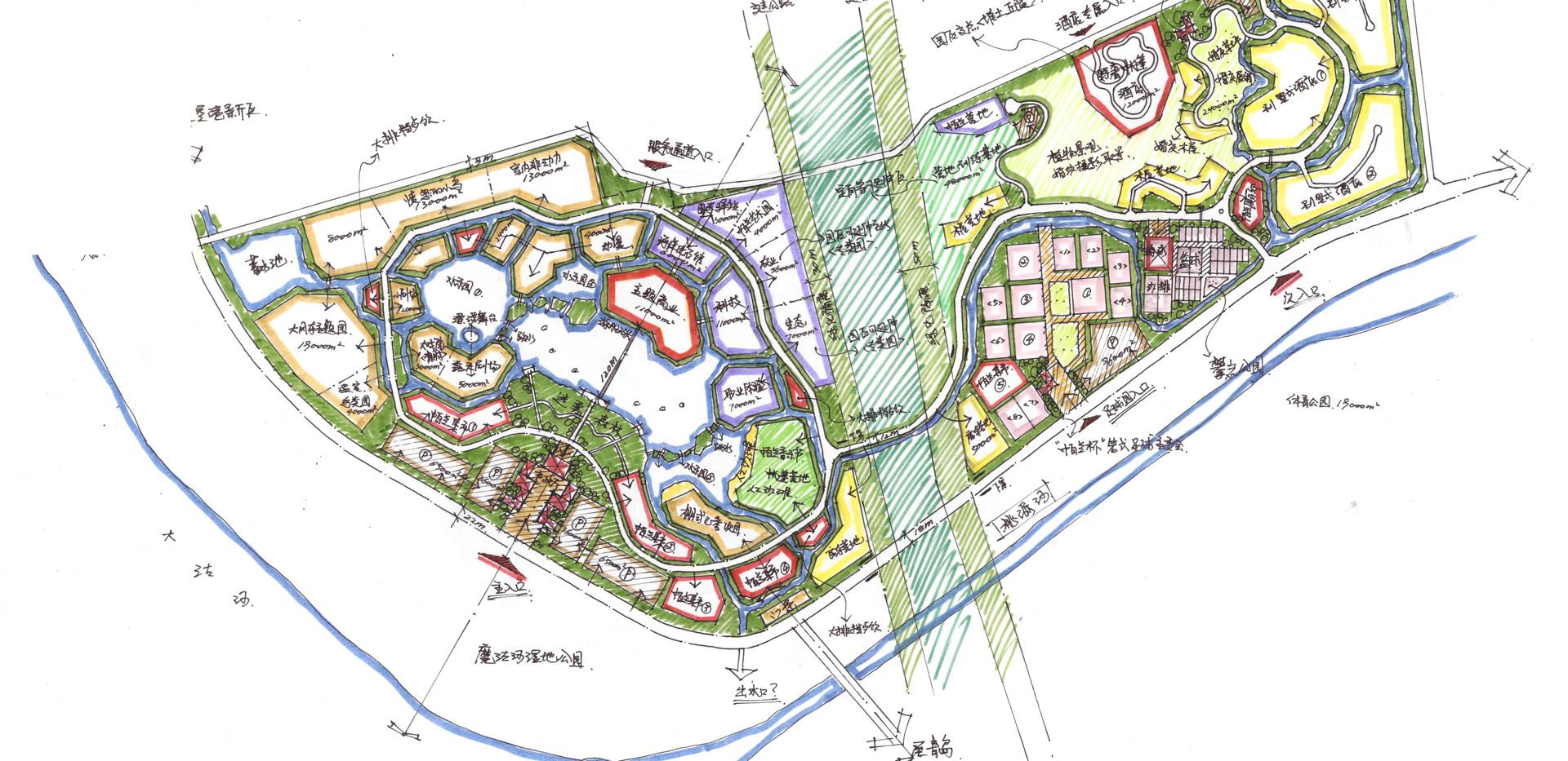青岛帕兰王国主题乐园总体规划