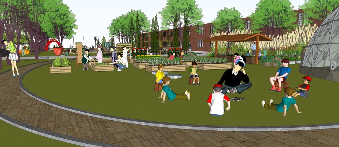 园艺空间站户外中心概念方案