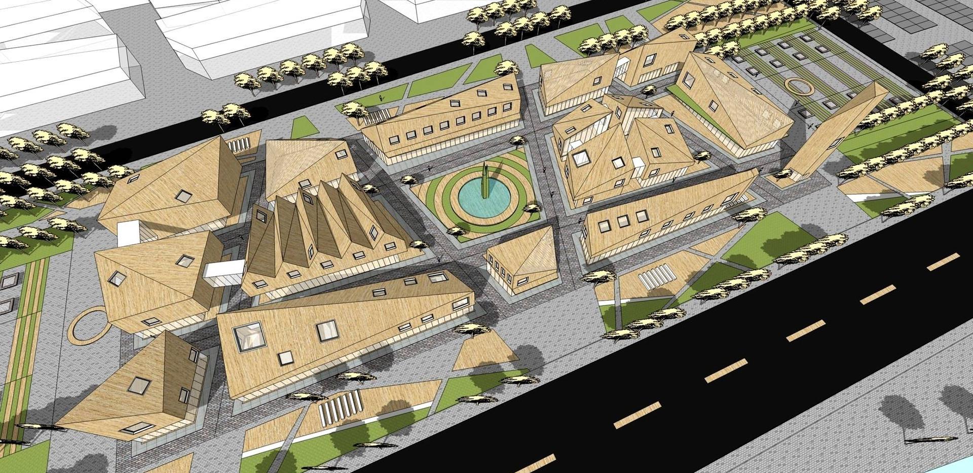 阿尔山白狼镇文化中心重建项目