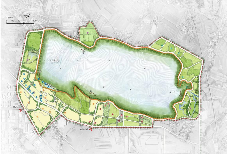 长春卡伦湖生态旅游开发总体规划