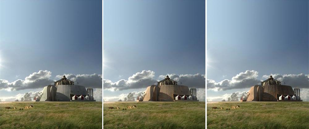 蒙兀室韦蒙古之源博物馆建筑设计项目