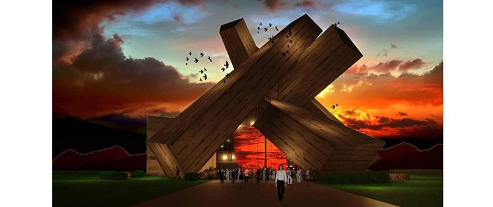 敖鲁古雅篝火剧院建筑设计概念方案