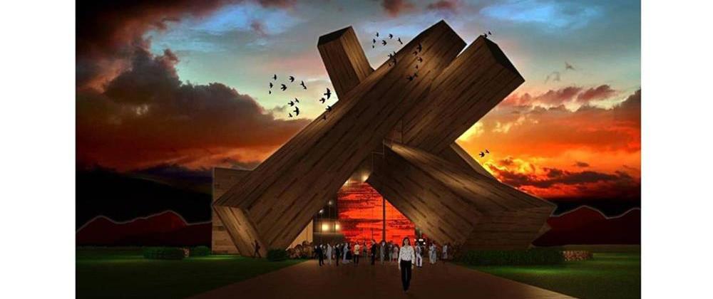 篝火剧院建筑设计概念方案