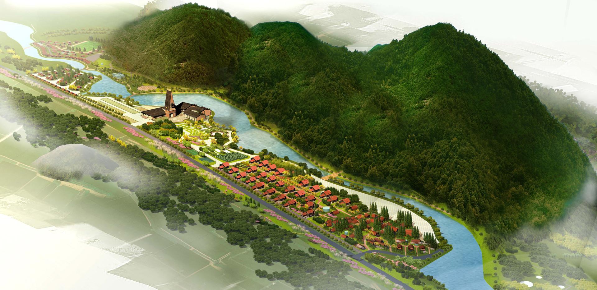阿尔山零碳生态营地总体规划