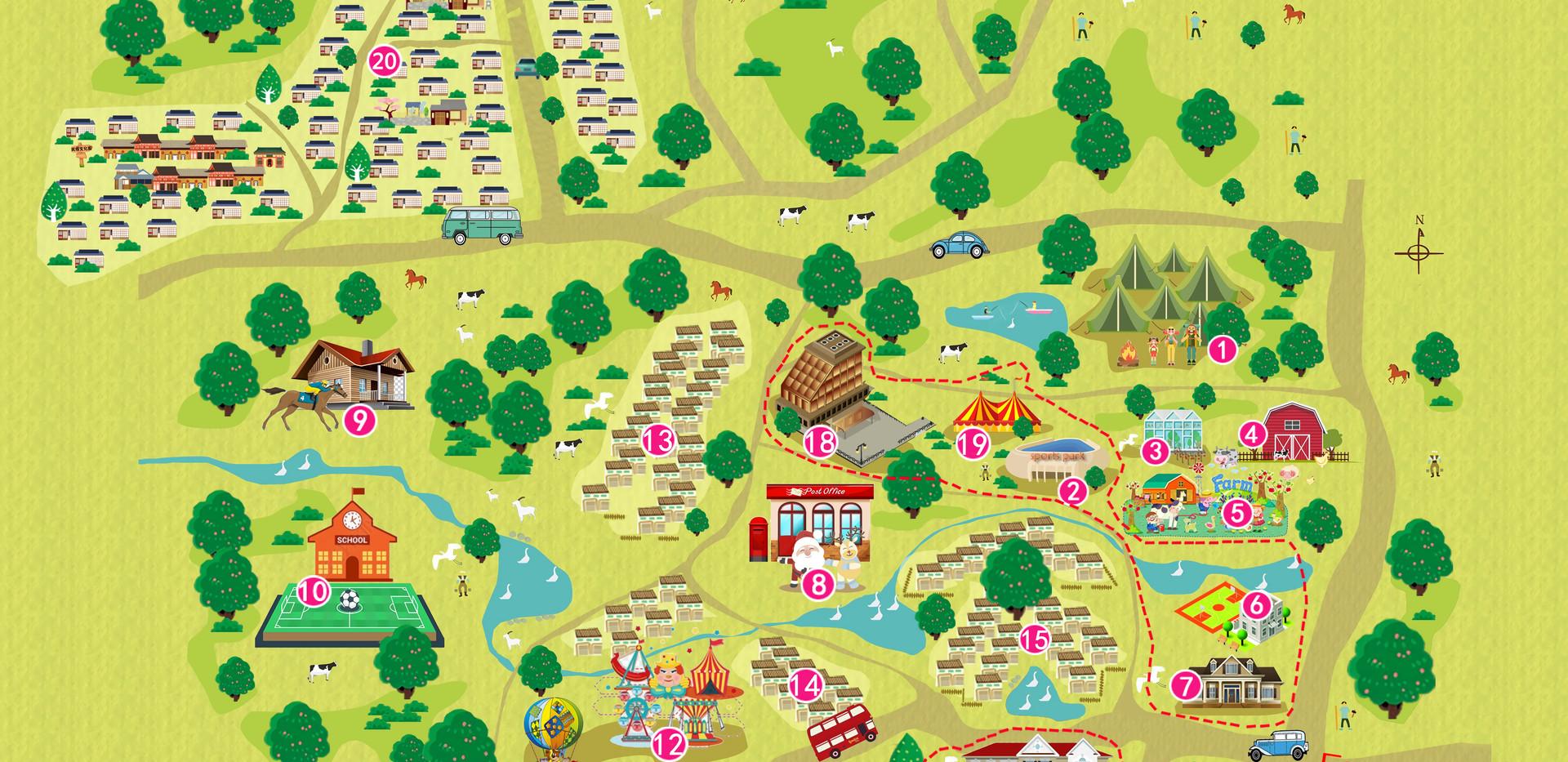 中欧营地小镇概念方案