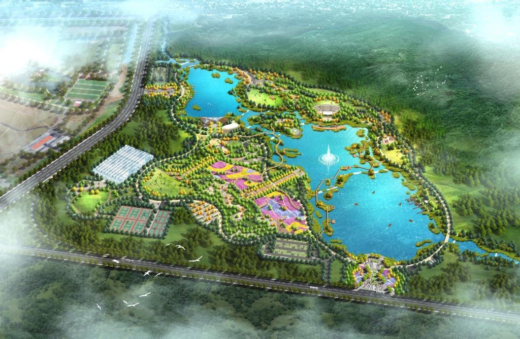 扎赉诺尔城市绿廊景观规划