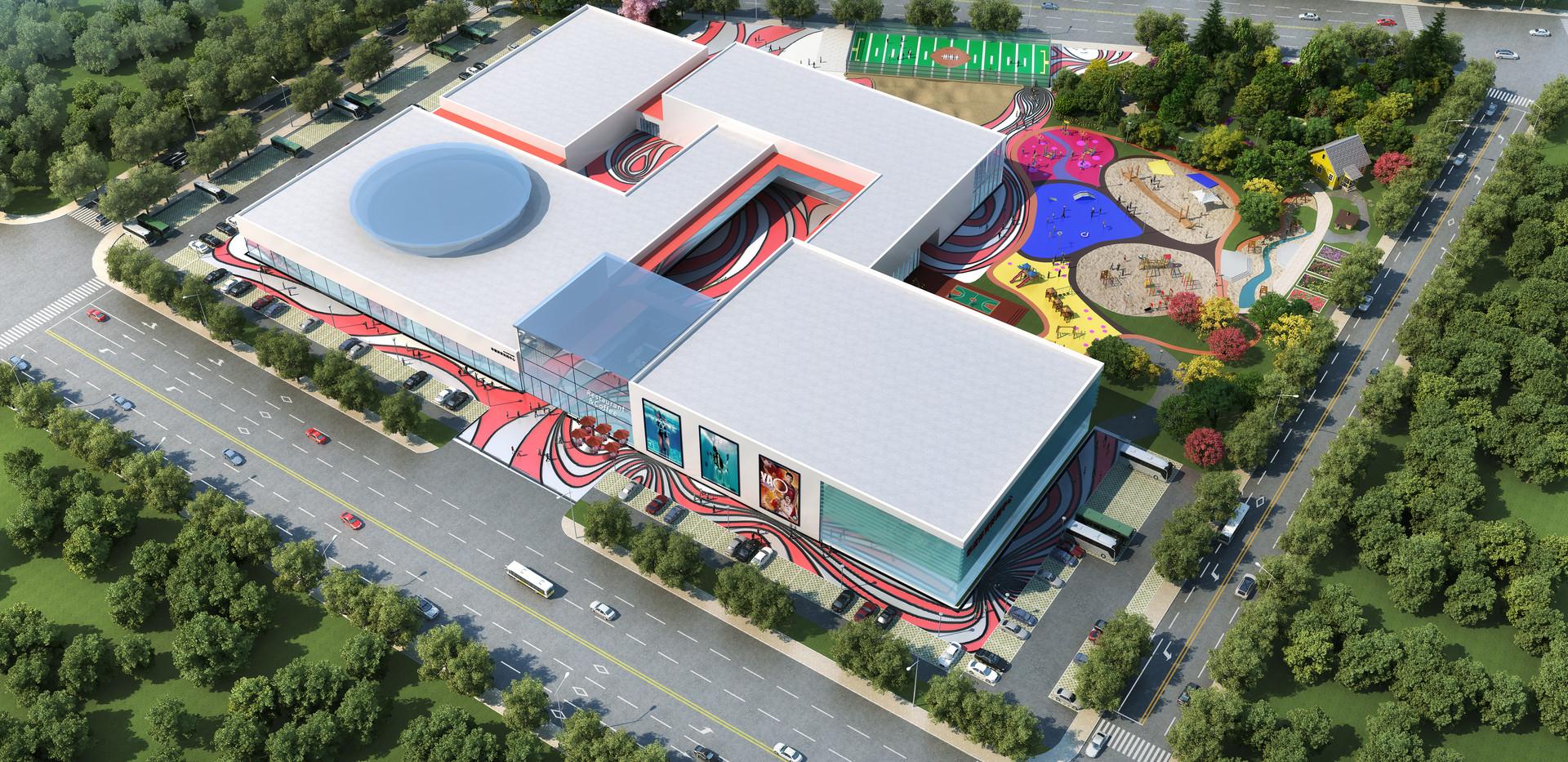 华谊体育邻里中心建筑设计