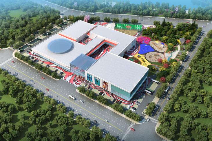 华谊兄弟邻里运动中心建筑设计