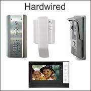 Hardwired intercoms, video & audio door entry, aes intercoms
