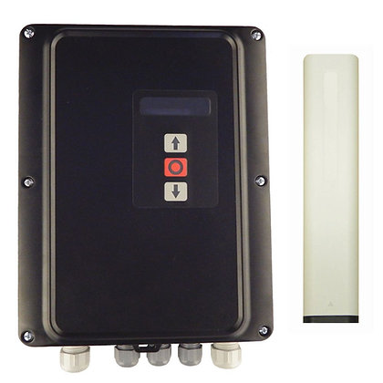 3 phase control panel with wireless impact detector