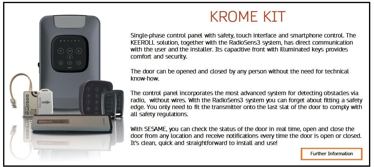 krome kit website