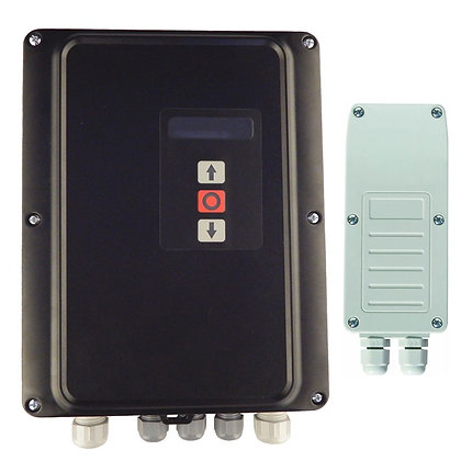 versus i30, 3 phase controller, industrial roller control, radio remote control, wireless safety edge
