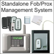 500/2000 user control unit, wireless management system, proximity readers, stand alone management, one to four channels, 868 MHz radio receiver