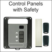 roller shutter and garage door controls with safety,