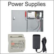 access control power supplies, DIN Rail, battery back up power supply, lockable power supply,