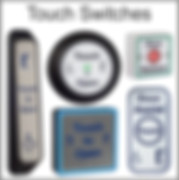 Touch switches/sensors, touch to open, hardwired/wireless door sensors, push pads, jamb push pads