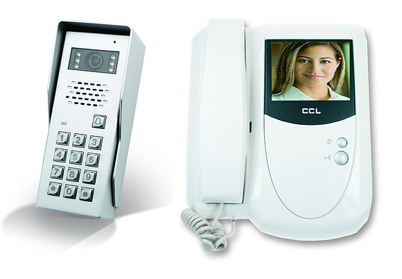CCL-VCK1-CK    Coloured Video Intercom kit with keypad