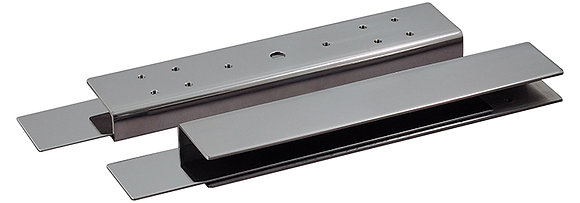 CP120U    Glass U Bracket For Shear Lock