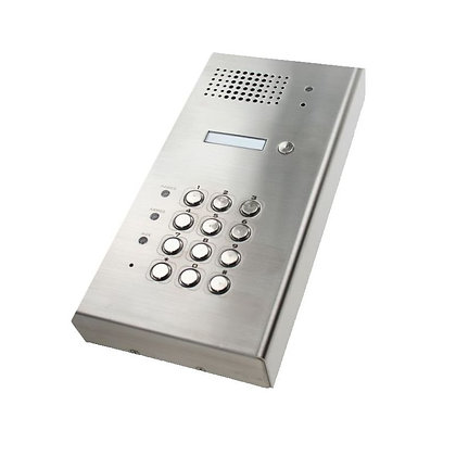 DP101, hardwired intercom with keypad