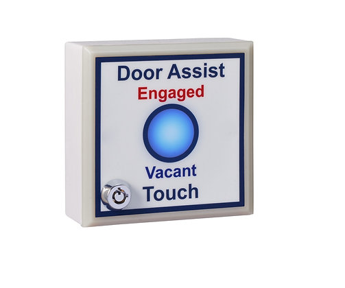 SGWCASSK - Single Gang Antimicrobial 'Door Assist' Toilet Sensor
