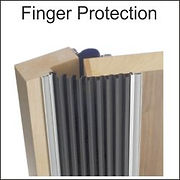 automatic door finger protection, automatic door finger guards, fp200