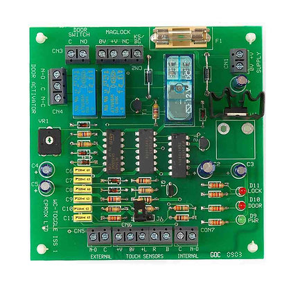 WCPCB, disabled toilet system control board