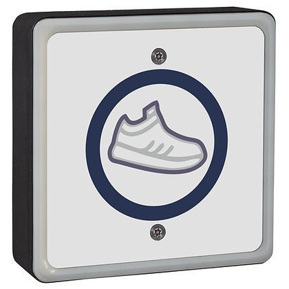 "SQTXFOOT - ""No Touch"" Square Wireless Foot Sensor / Kick Switch"