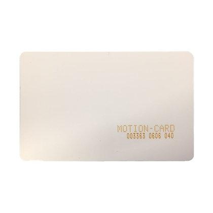 motion card, 13.56MHz proximity card, jcm tech proximity card