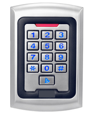 CP004-MF - Waterproof Mifare Proximity Reader & Keypad
