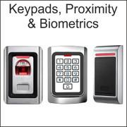 Digital keypads, stand alone keypads, proximity unit, biometric units, fingerprint readers, touch screen keypads, IP65 keypads, waterproof, card/fob/transmitter reader