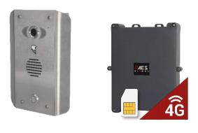 AES PRAE-4GE-AS/ASK Praetorian Guard 4G Intercom