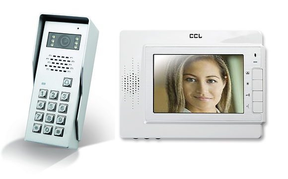 CCL-VCK2-CK    Colour Hands Free Video Intercom With Keypad