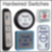 hardwired touch switches/sensors, touch to open, antibacterial door sensors, stainless steel door sensors, copper door sensors,