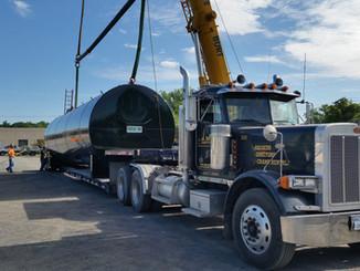 Oversize Fuel Tank