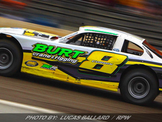 The BURT Pro Stock Car will be at the DIRTcar Pro Stock Series, Labor Day Card at Weedsport Septembe