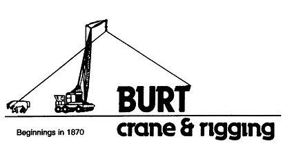 BURT crane & rigging Logo
