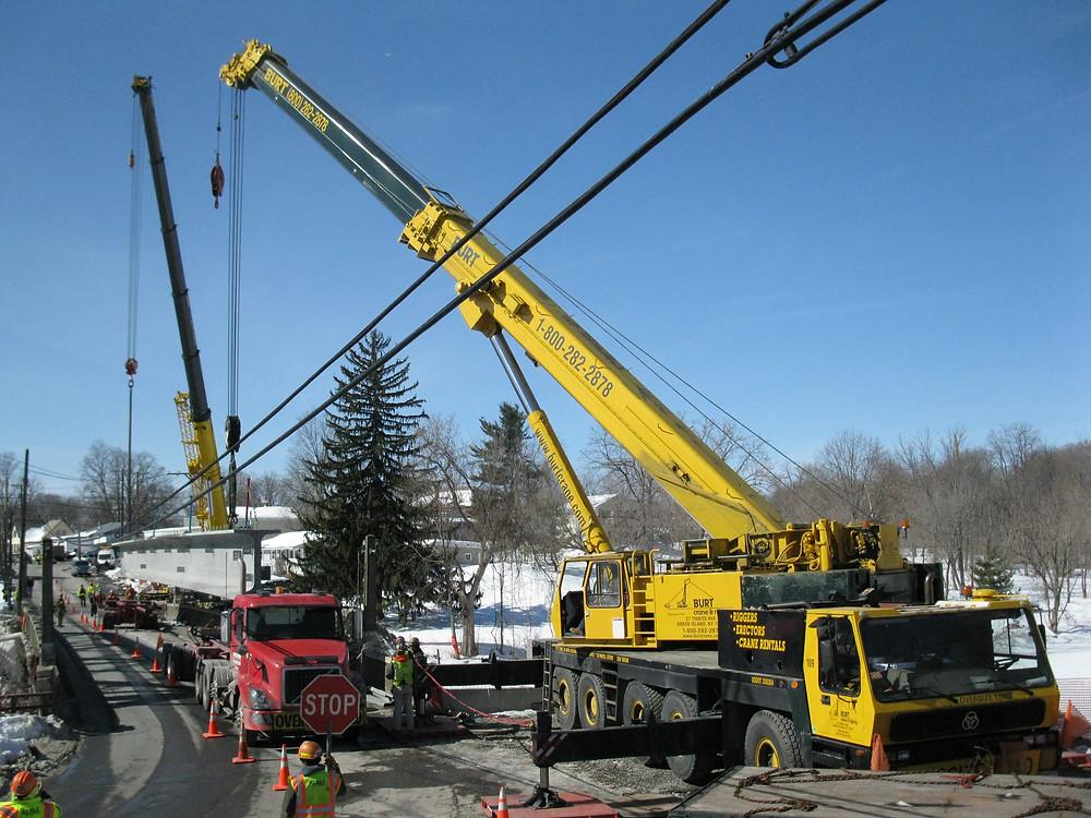 ROUTE 372 burt crane