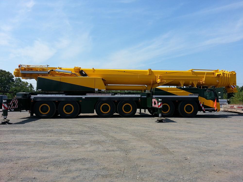 300 ton crane burt crane