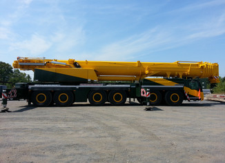 OUR 300 TON CRANE IS HERE!!!